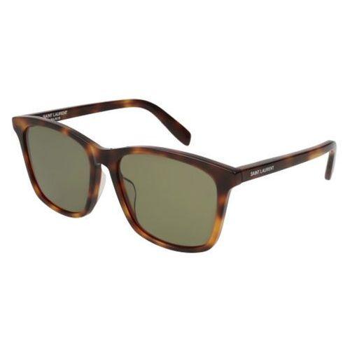Okulary słoneczne sl 205/k 003 marki Saint laurent