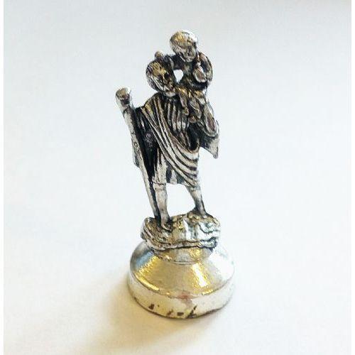 Figurka św. krzysztof (metalowa) marki Praca zbiorowa