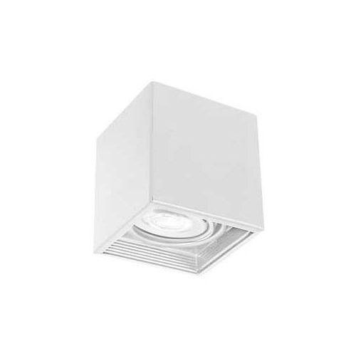 Luminex Downlight Square 324 plafon lampa sufitowa 1x8W GU10 biały (5907812623241)