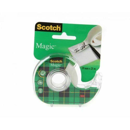 Taśma klejąca magic 19mmx7,5m matowa 8-1975 marki 3m scotch