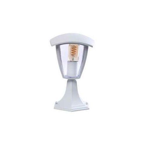 fox eko3513 lampa stojąca ogrodowa 1x40w e27, biała marki Milagro