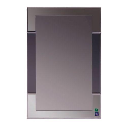 Lustro łazienkowe bez oświetlenia VELVET IV 80 x 50 cm DUBIEL VITRUM, kolor biały