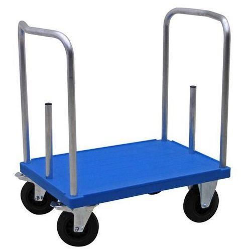 Wózek platformowy do dużych obciążeń TWICE, dł. x szer. 900x600 mm, nośność 500
