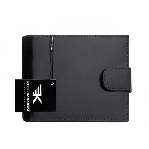 Kochmanski studio kreacji® Skórzany portfel męski kochmanski rfid stop 1240 (9999001040027)