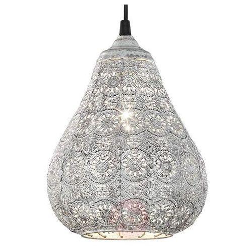 jasmin lampa wisząca siwy, 1-punktowy - vintage - obszar wewnętrzny - jasmin - czas dostawy: od 4-8 dni roboczych marki Trio
