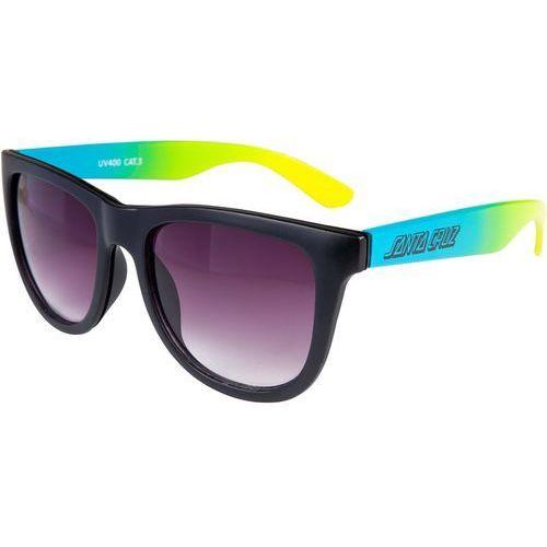 Santa cruz Okulary przeciwsłone - jammer fade sunglasses black fade (black fade)