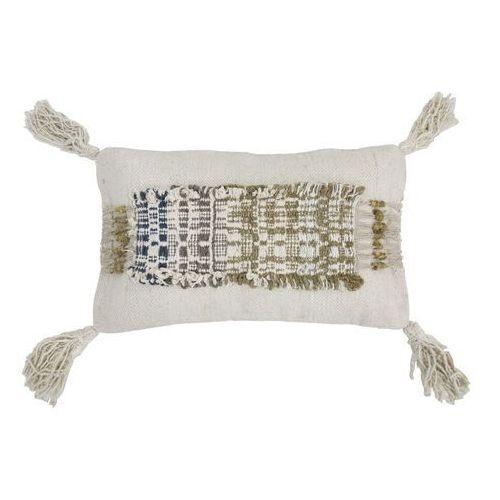 HK Living Poduszka wabi sabi z frędzlami wykonana z bawełny (70x40) TKU2046 (8718921017862)