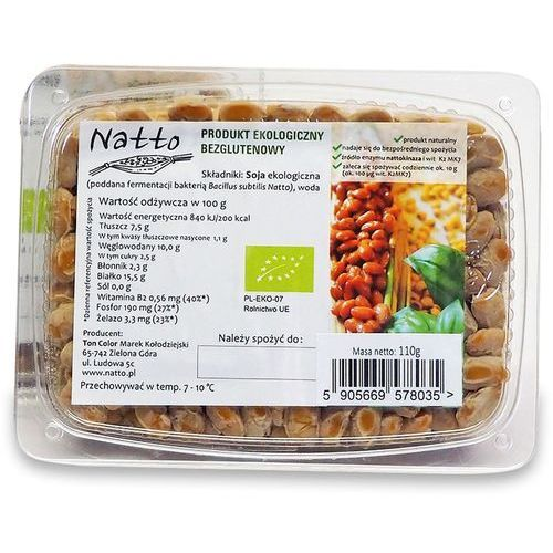 Natto (sfermentowana soja) Sfermentowana soja (natto) bio 110 g - natto