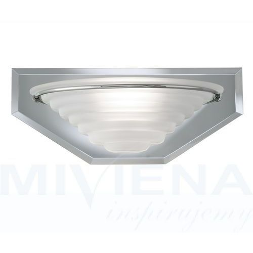 Searchlight Mirror wall lights kinkiet 1 chrom lustro szkło (5013874170132)