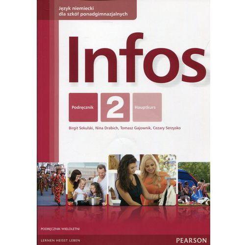 Infos 2 Podręcznik wieloletni z płytą CD (88 str.)
