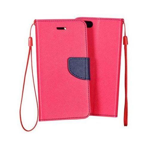 Futerał fancy apple iphone 5 / 5s / 5se różowy od producenta Toptel