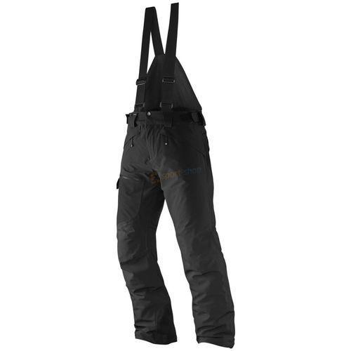 Salomon Spodnie narciarskie męskie chill out bib pant (czarne)