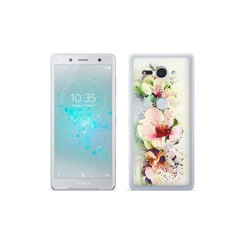 etuo Fantastic Case - Sony Xperia XZ2 Compact - etui na telefon Fantastic Case - róże herbaciane, kolor różowy