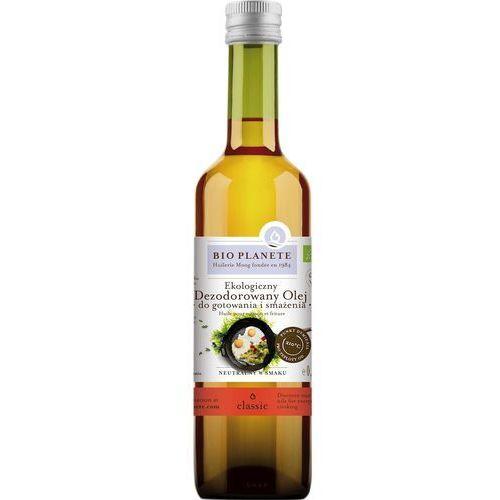 Bio planete (oleje i oliwy) Olej do gotowania i smażenia bio 500 ml - bio planete