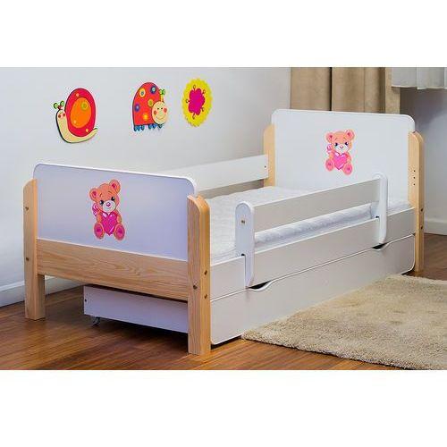 Kocot-meble Łóżko dziecięce drewniane  babydreams miś z sercem kolory negocjuj cenę