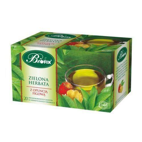 Herbata zielona ekspresowa z opuncją figową 40 g Bifix (5901483100308)