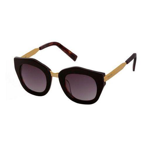 Okulary słoneczne mon amour ma03a/havana dark/gold/gold (gradient smoke) marki Spektre