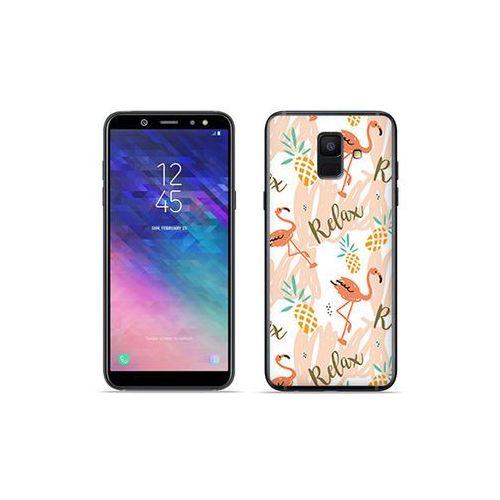 Etuo fantastic case Samsung galaxy a6 (2018) - etui na telefon fantastic case - różowe flamingi