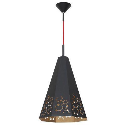 Lampa wisząca zwis Aldex Atom duży 1x40W E27 czarny 767G1/D