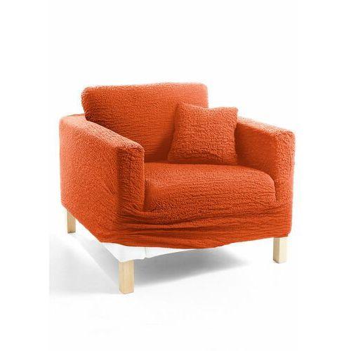 Bonprix Pokrowiec/poszewki na poduszki z kreszowanego materiału terakota