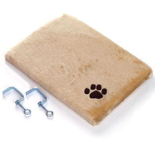 Zooplus exclusive Pluszowe legowisko dla kota na parapet, beżowe - dł. x szer x wys.: 50 x 35 x 5 cm