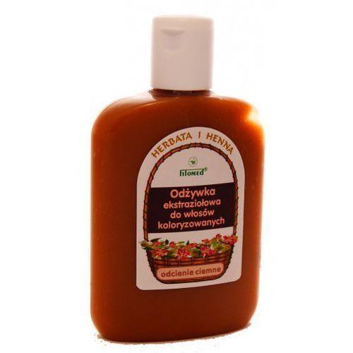Fitomed odżywka ekstraziołowa do włosów koloryzowanych ciemnych włosy ciemne herbata i henna 200ml