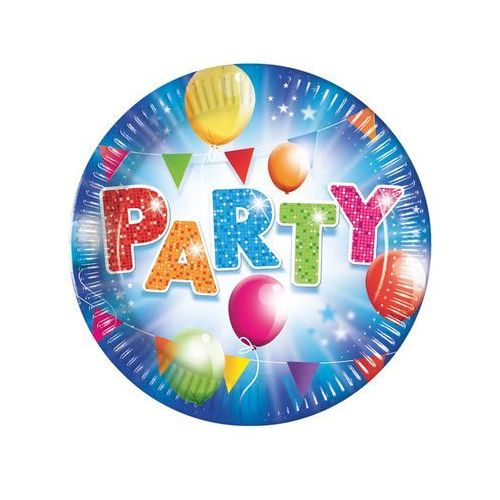 Procos non-disney Talerzyki urodzinowe party - 23 cm - 8 szt. (5201184882580)