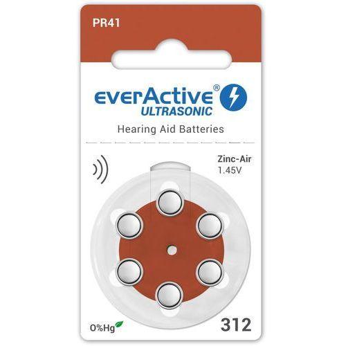30 x baterie do aparatów słuchowych ultrasonic 312 marki Everactive