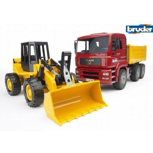 BRUDER Ciężarówka MAN + ładowarka 02752, BR02752