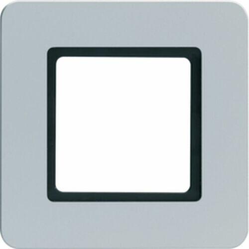Q.7 ramka 1-krotna do modułu podświetlenia led, alu aksamit, lakierowany 10116104 marki Hager polo sp. z o.o.