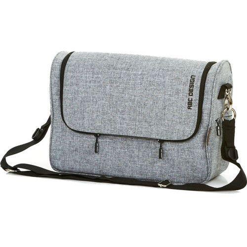 Abc design  torba na pieluchy classic 2017, graphite grey