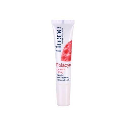 folacyna 50+ liftingujący krem pod oczy spf 10 (express lifting) 15 ml marki Lirene