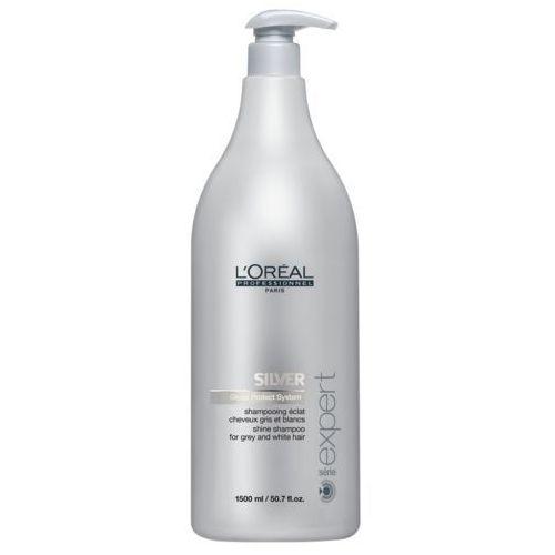 silver - szampon do włosów siwych lub rozjaśnionych 1500ml marki Loreal