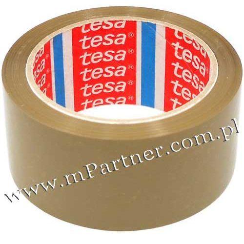 Taśma pakowa 4089 brązowa 48mm 66m marki Tesa