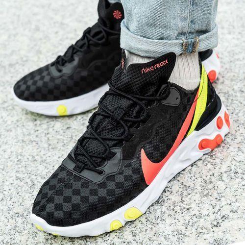 Buty treningowe męskie Nike React Element 55 (CJ0782-001), kolor czarny