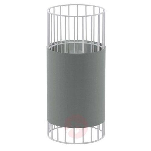 Lampka Eglo Palmones 97956 stołowa nocna 1x60W E27 biała/szara (9002759979560)