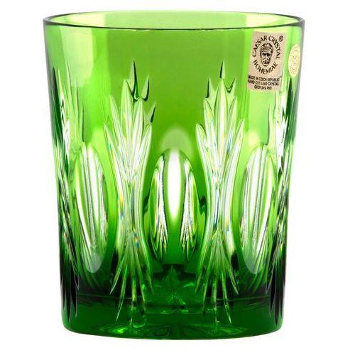 20688 Szklanka Dmuchawiec, kolor zielony, objętość 290 ml