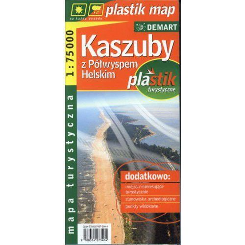 Kaszuby z Półwyspem Helskim. Plan miasta. 1:75 000. (2 str.)