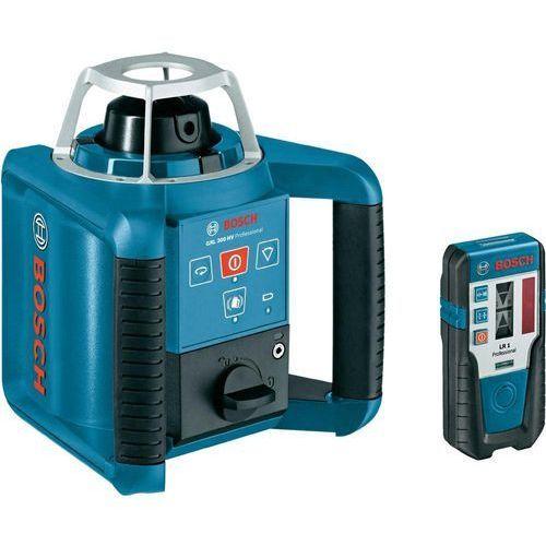 Bosch professional Laser rotacyjny grl 300 hv 0601061501, zakres (maks.): 300 m, kalibracja: fabryczna (bez certyfikatu) (3165140578714)