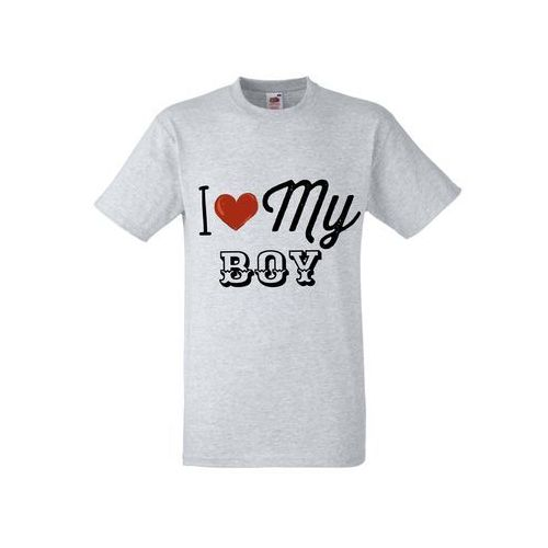 Koszulka Żony Dziewczyny Prezent Love My Boy - DKS010