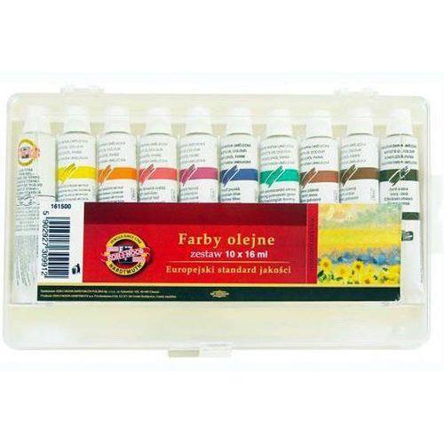 Koh-i-noor Farby olejne 16 ml - zestaw 10 sztuk