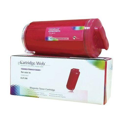 Toner cw-s350mn magenta do drukarki samsung (zamiennik samsung clp-m350a) [2k] marki Cartridge web