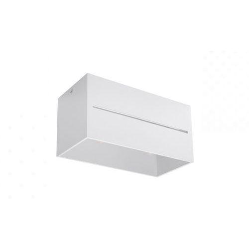 Spot plafon Sollux Lobo Maxi SL.0383 oprawa sufitowa 2x40W GU10 biały, kolor Biały