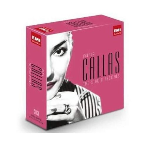 Emi The studio recordings - limited - maria callas (płyta cd)
