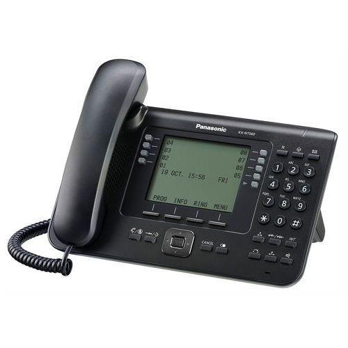 KX-NT560 Telefon IP przewodowy, czarny Panasonic
