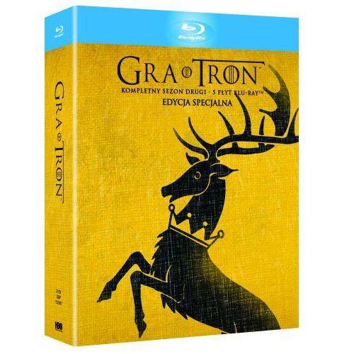 Gra o tron, sezon 2 (blu-ray) - timothy van patten, alan tylor, daniel minahan darmowa dostawa kiosk ruchu marki Empik.com