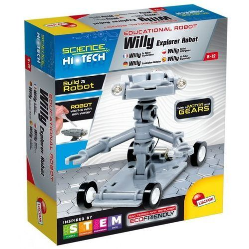 Science Hi Tech Willy Robot Odkrywca, 304-73238