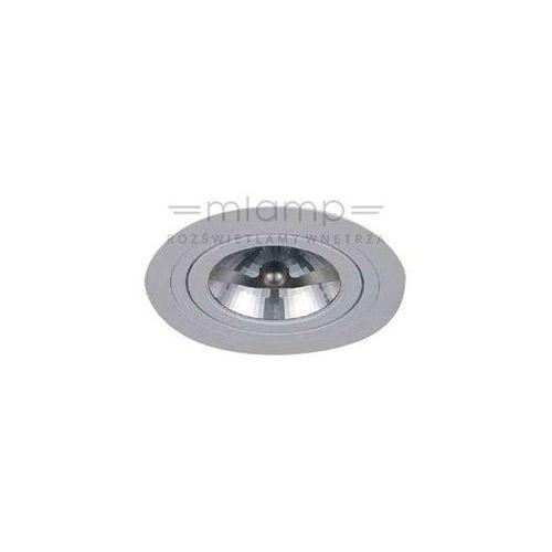 Oczko LAMPA sufitowa PURO bianco Orlicki Design metalowa OPRAWA podtynkowa wpust okrągły biały, PURO bianco