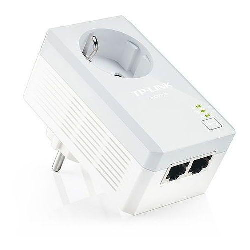 TL-PA4020P Transmiter sieciowy AV500 z gniazdkiem elektrycznym i 2 portami Ethernet TP-LINK, TL-PA4020P