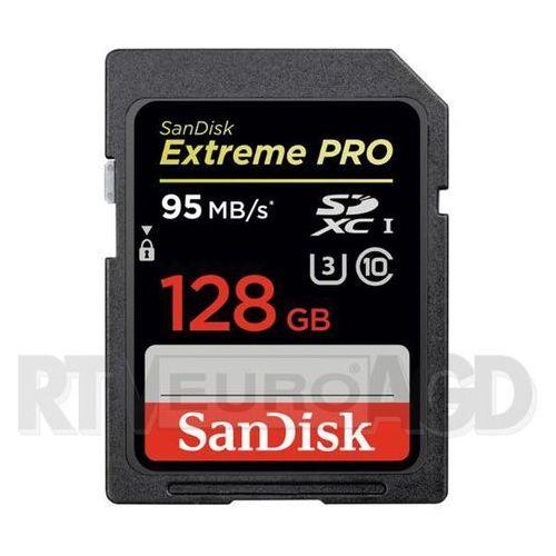 SanDisk Extreme Pro SDXC Class 10 U3/UHS-I 128GB - produkt w magazynie - szybka wysyłka! (0619659147679)